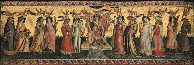 Giovanni dal Ponte - Allegorie delle Arti Liberali - 1435 ca. - Madrid, Museo del Prado