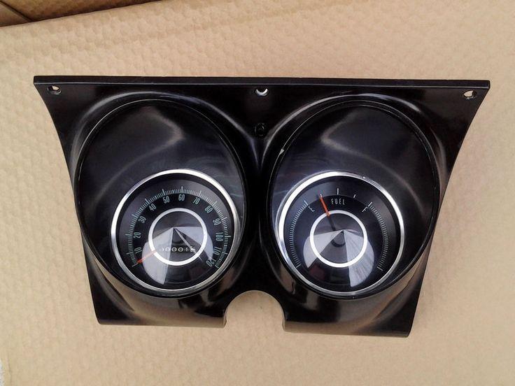 6768 Camaro Firebird Gauge Cluster Restored Chevy Pontiac