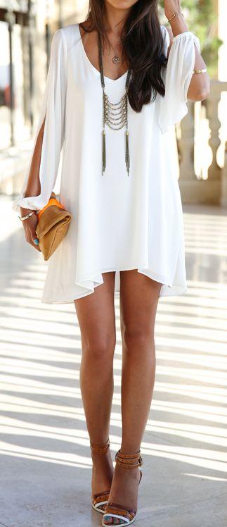Waar ik echt gek op ben: Zomer, Bruine Huid, witte jurken!