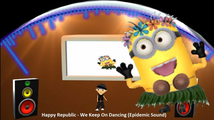"Happy Republic - We Keep On Dancing ""Epidemic Sound"" Minion Rush 1080p 6..."