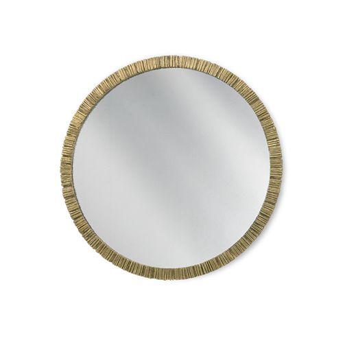 Porta Romana - WM21, Trevose Mirror - French Brass