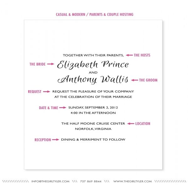 6421 best wedding ideas images on pinterest invitation ideas casual wedding invitation wording theruntime 15 wedding invitation wording samples from traditional to fun mind blowing wedding invitation wording casual w stopboris Image collections