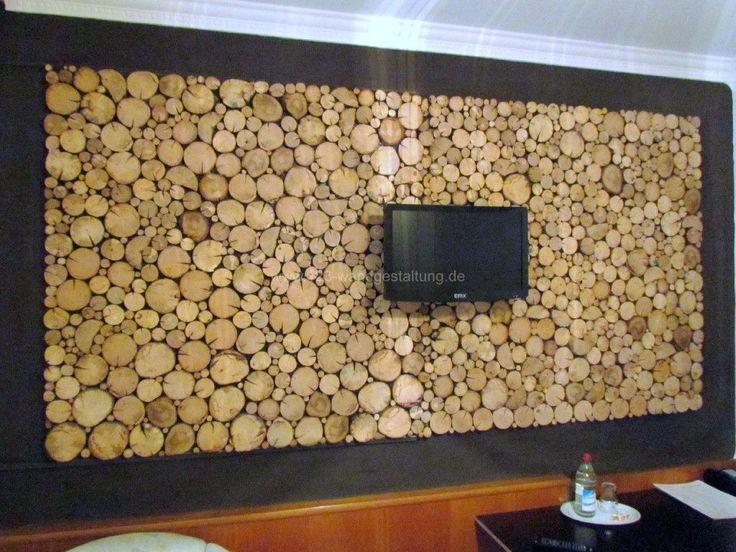 stilvolle-wandverkleidung-holzpaneele-wei-deko-amp-mbel Wandverkleidung Holz Paneele