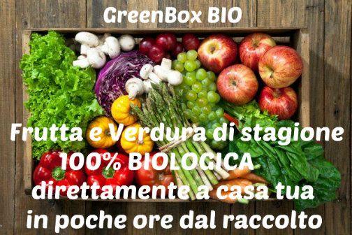 Cos'è una GreenBox Bio? Vieni a scoprirlo su www.degustaci.it/greenbox e scopri la frutta e la verdura della settimana #GreenBox #Bio La #natura a #casa #tua