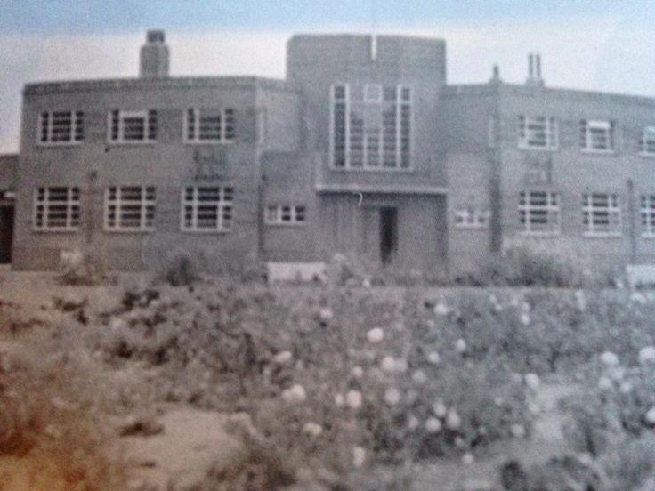 The now demolished Oak Hotel. Shrewsbury, Shropshire