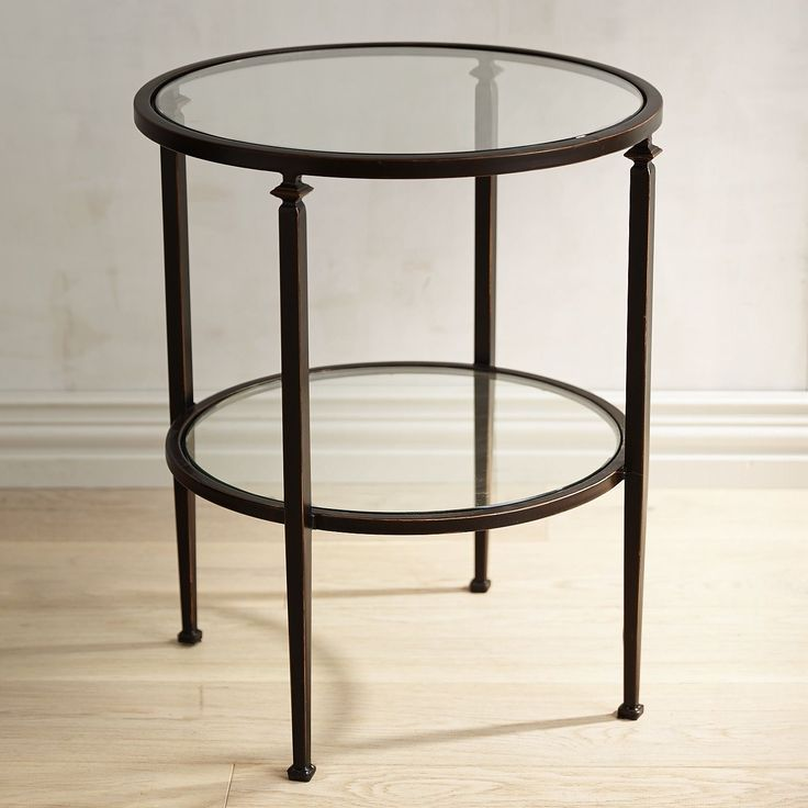 1000 images about accent tables end tables on for Glass end tables