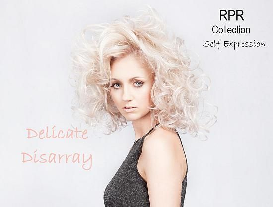 New RPR Look: An illuminating blonde with subtle pearl reflects is our 3rd Model look as part of the RPR Self Expression Collection.  Styled in a delicate disarray of pinned curls with extreme volume and hold, see our RPR website for style and care tips on this look: http://www.rprhaircare.com.au/site/pages/RPR_collections.php?resetbrand=1