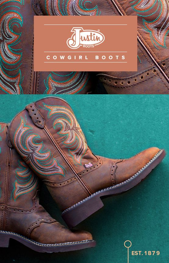 Boots with history... http://www.countryoutfitter.com/justin/cowboy-boots/womens