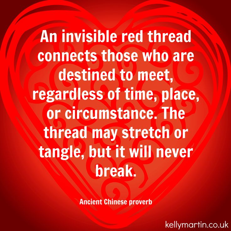 an invisible thread connects those who are destined to meet regardless of time