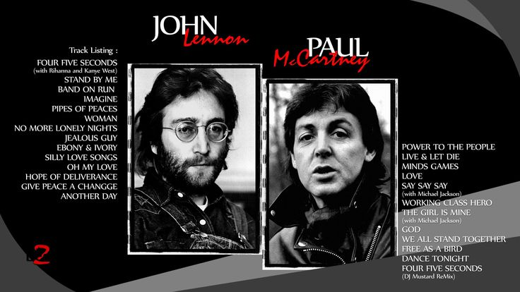 JOHN LENNON & PAUL McCARTNEY Solo Music Works - The Best 2