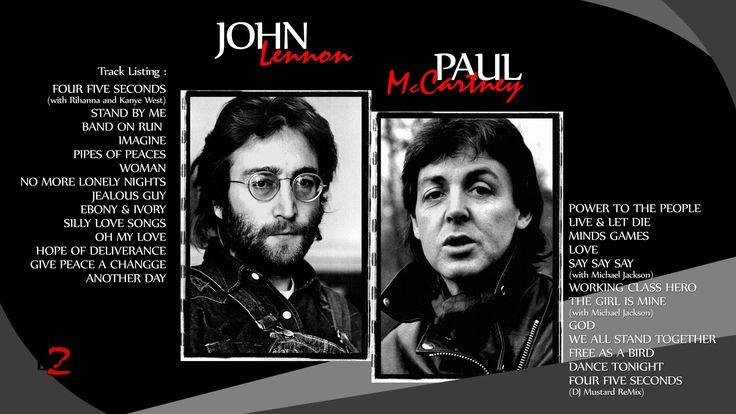 JOHN LENNON & PAUL McCARTNEY Solo Music Works - The Best 2