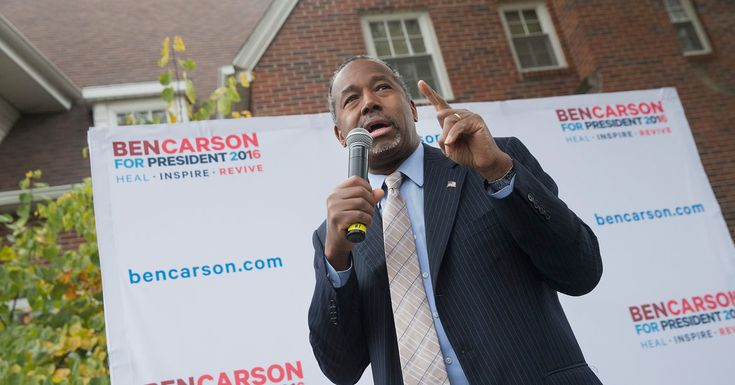 Ben Carson has dislodged Donald J. Trump from the front of the Republican presidential pack for the first time in months, according to a New York Times/CBS News survey.