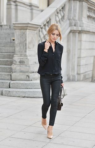 1000  images about STYLING CLOTHES - Basic Black PANTS on Pinterest