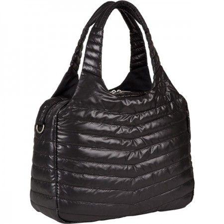 Sac à langer Lassig Global Bag Glam Solid black