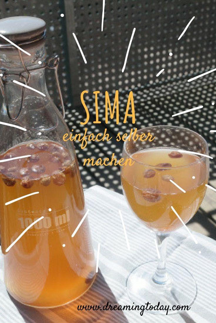 Sima, wird in Finnland gerne zum Maifaiertag Vappu getrunken. Es ist toll für den Sommer, ich zeige dir, wie du es selber machen kannst.