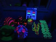 glow in the dark Birthday Party Ideas   Photo 2 of 12   Catch My Party