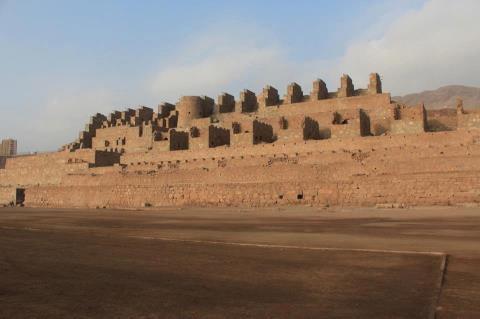 Chile - Ruinas de la Fundición de Metales de Huanchaca de Antofagasta.