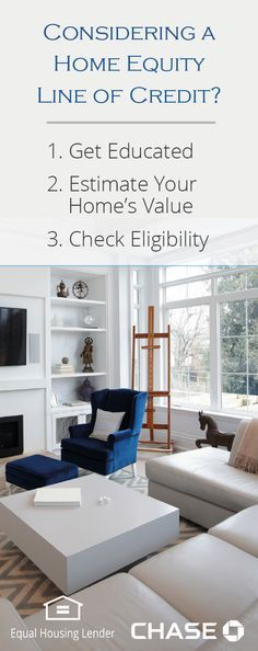 Looking to make improvements to your property? Learn how to finance the project without tapping into your savings. To reach your goals, consider using the equity in your home. Start by checking your eligibility to see if a Home Equity Line of Credit is right for you.