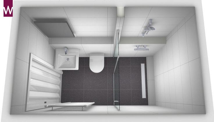 Veel kleine badkamer ontwerpen met producten van verschillende merken, voor elk budget. Laat je inspireren op Kleine badkamers.nl