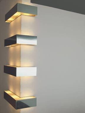 #Design - Edge Wall Lights. #onlineartgallery - #contemporaryart - online art gallery - contemporary art