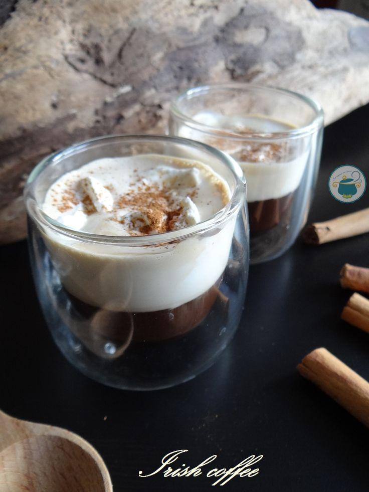 Irish coffee alla cannella