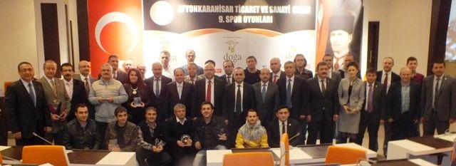 ATSO Spor Oyunları ödülleri verildi