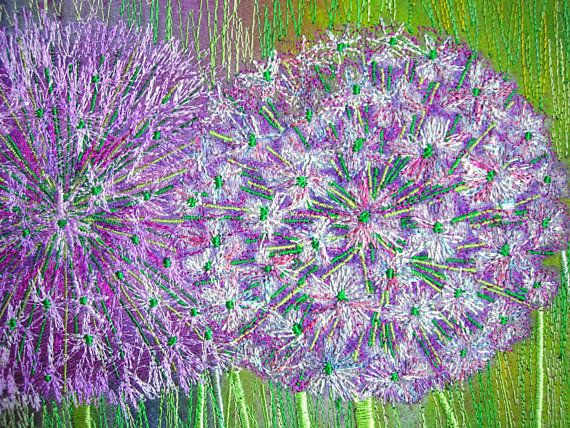 Nicky Perryman - Alliums (detail)
