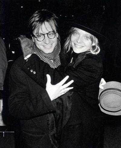 Michelle Pfeiffer & Fisher Stevens