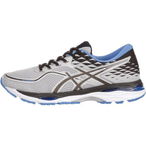 Asics Men's Gel Cumulus 19 Running Shoes (Grey/Black/Directoire Blue, Size 7.5) - Men's Running Shoes at Academy Sports