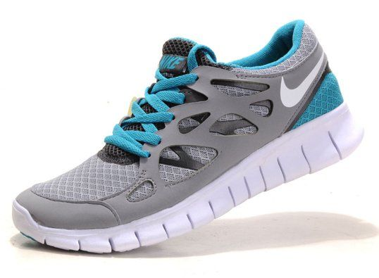 Blue Gray Best Deals Nike Free Run new 2 sale