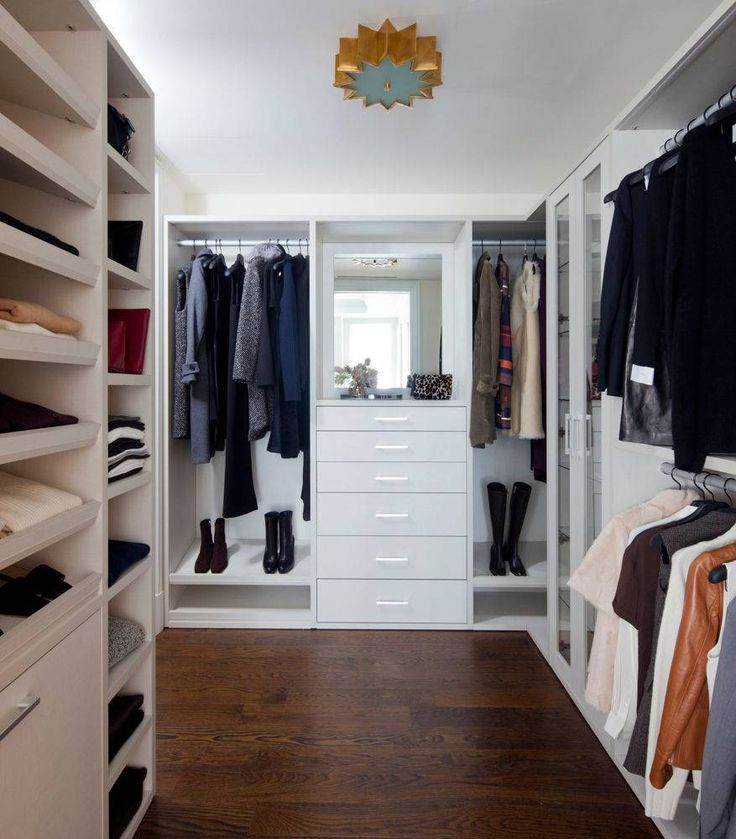 Beautiful This His And Hers White Walk In Closet Is Guaranteed To Keep Everyone  Organized. White ClosetCity StyleCalifornia ...