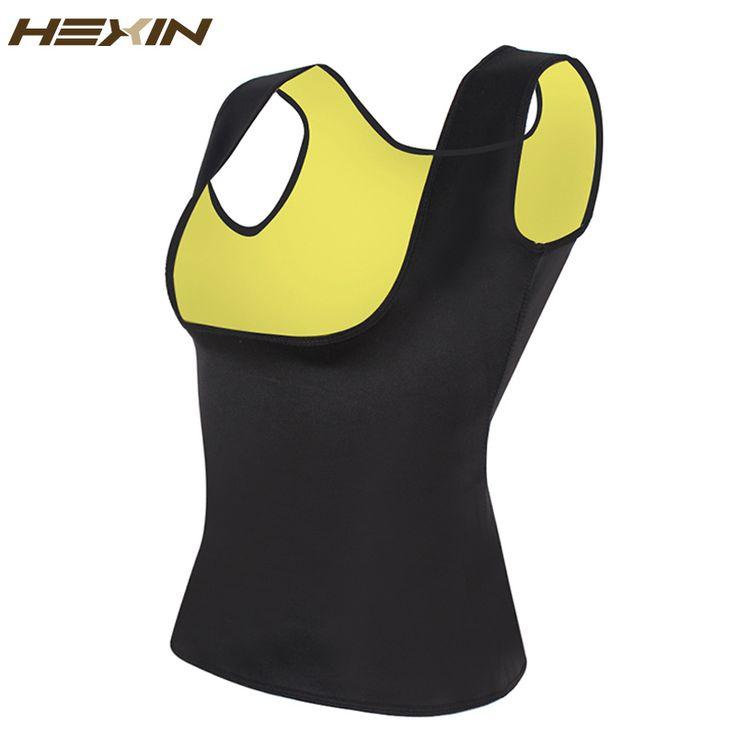 HEXIN Neoprene Vest Waist Trainer Fajas Sweat Body Shaper Slimming Shapewear Tank Top Workout Corset Underbust Waist Trainer 6XL //Price: $14.95 & FREE Shipping //     #hashtag1
