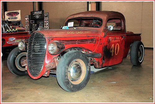 1938 ford rat rod truck