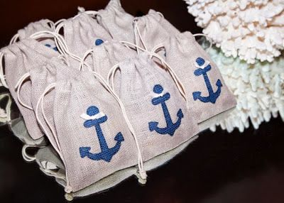 Nautical Baptism Party Ideas | for baby boy