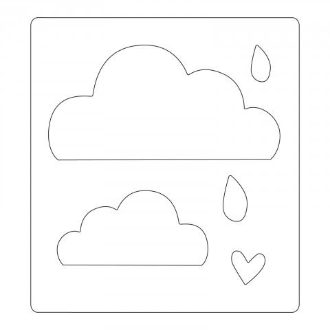 Sizzix Bigz Die - Cloudy Days