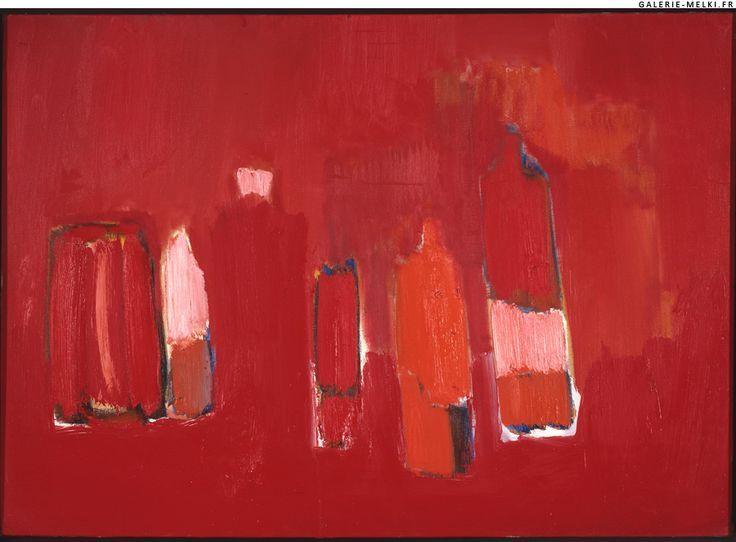 Red Bottles, 1955 - Nicolas de Staël (1914-1955)