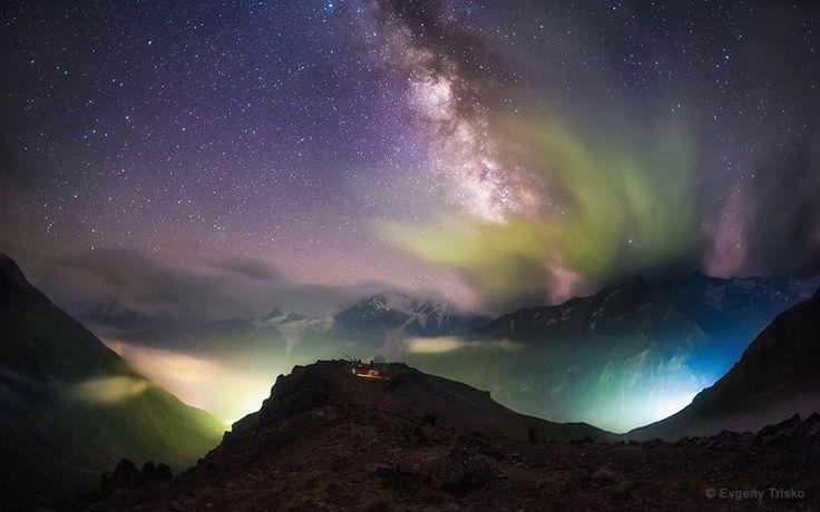 Zwycięzcy Earth & Sky Photo Contest 2015, nocne zdjęcia krajobrazów