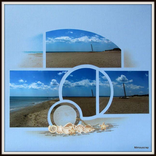 nice seashells on the beach embellishment cluster