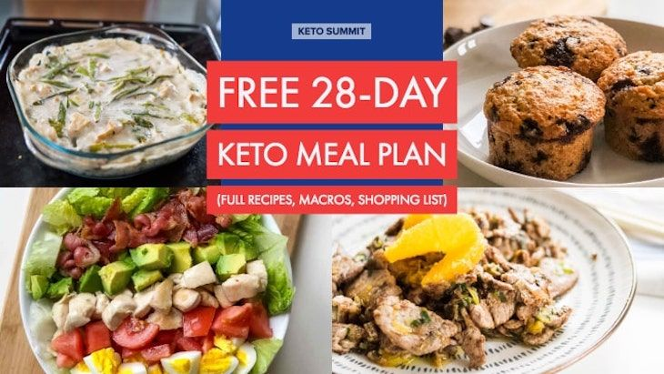 Free 28day keto meal plan free keto meal plan keto