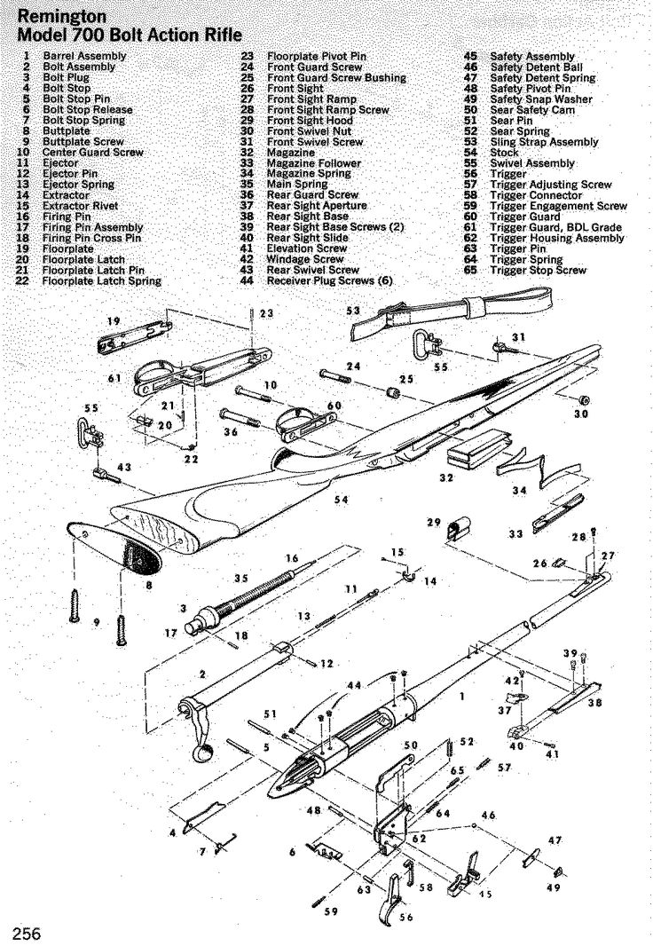 diagram for remington 597 bolt assembly for 7 pin trailer connector wiring diagram for haulmark remington 700 trigger assembly. for future reference in ...