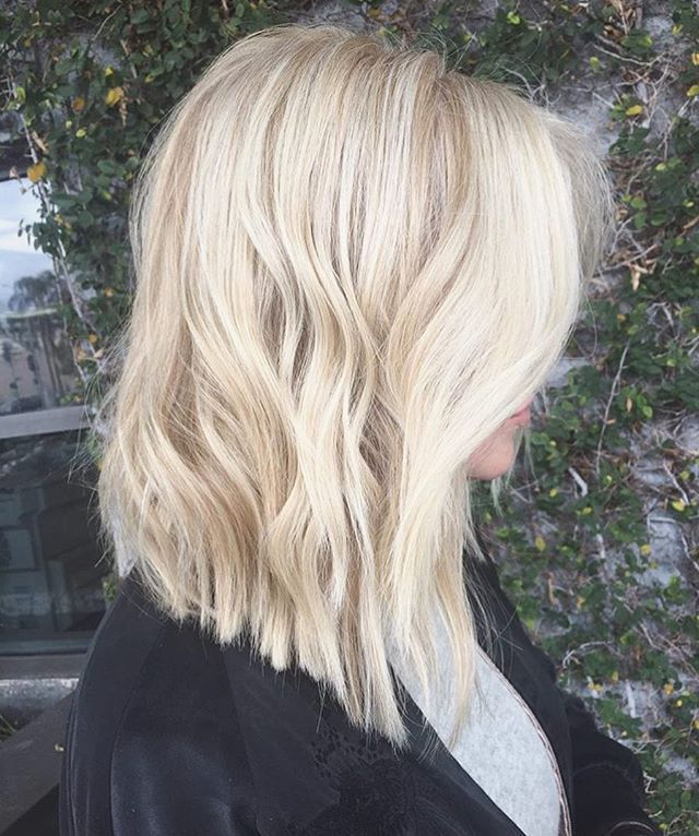 textured a-line #lob cut