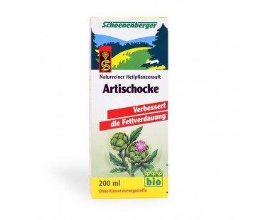 EXTRACT PUR DE ANGHINARE BIO supliment alimentar pentru slabire si detoxifiere
