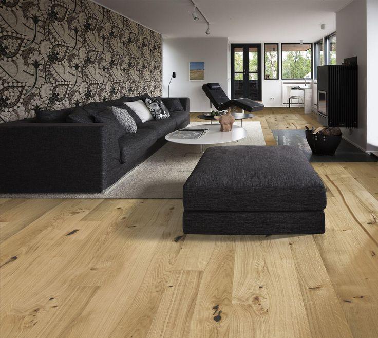 Drevená podlaha Kährs Linnea Dub Village, prírodný olej, kefovaný