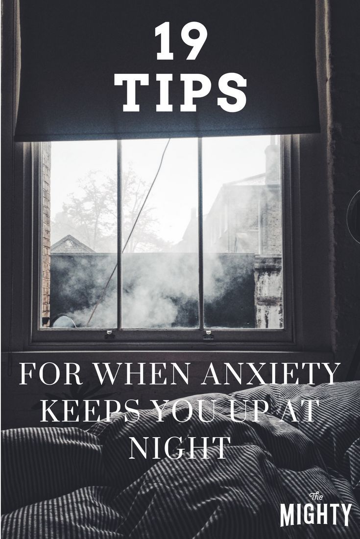 Stress & anxiety can cause you to lose sleep, which only results in feeling more stressed. Use these tips to help you work through that nighttime anxiety.