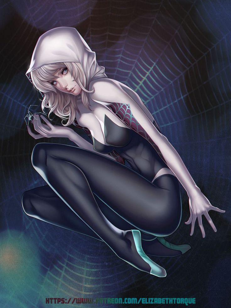 Ms Girl Wallpaper Elizabeth Torque Going To Draw Spider Gwen Marvel
