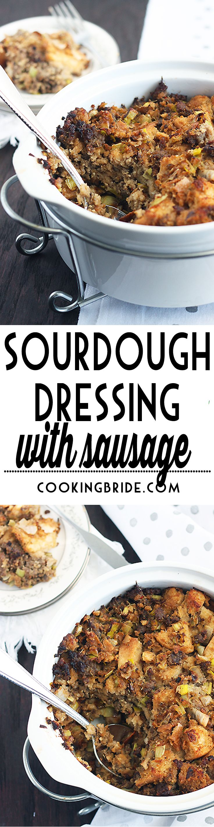 Sourdough and Sausage Stuffing | Recipe