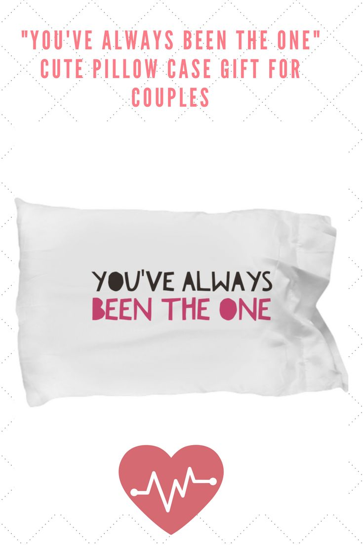 Looking for a cute gift to give your girlfriend/boyfriend?  Get this pillow case to your loved ones