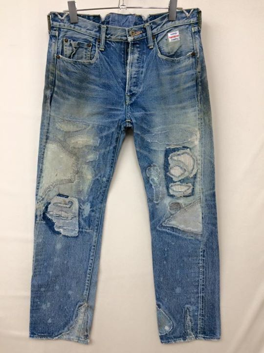 """Hands-on"" mend this denim in Okayama Japan"