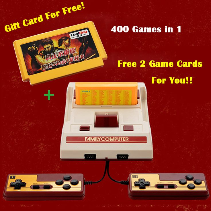 8Bit Classic Video Game Consoles Nostalgic original TV game player Family Fcomputer Play With Free 400 Games Card Free Shipping     Tag a friend who would love this!     FREE Shipping Worldwide     Get it here ---> https://www.techslime.com/8bit-classic-video-game-consoles-nostalgic-original-tv-game-player-family-fcomputer-play-with-free-400-games-card-free-shipping/