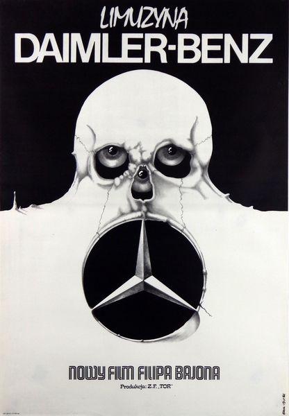 Daimler-Benz Limousine, Erol Jakub, Polish Poster